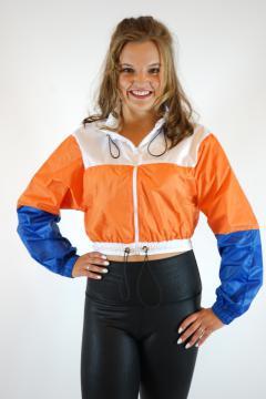 Sportief jasje Oranje/Wit/Blauw