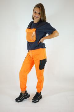 Oranje broek
