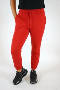 Casual broek rood