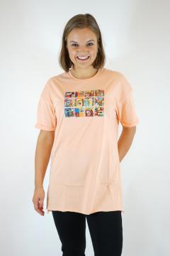 T-shirt animatie zalm