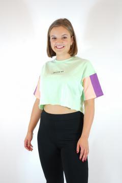 T-shirt yes X no groen