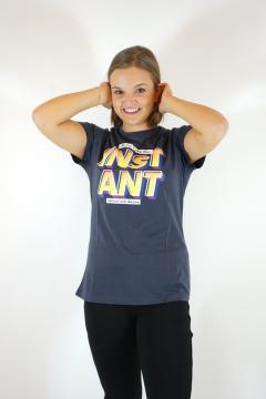 T-shirt instant grijs