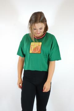 T-shirt mickey groen