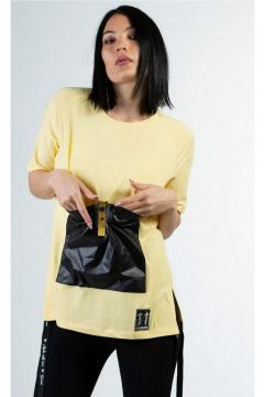 T-shirt Garami geel