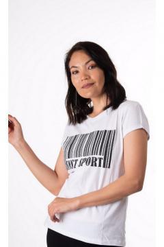 T-shirt SNST Sport wit