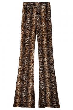 Flair broek jungle bruin
