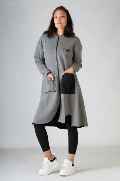 Vest My Style grijs