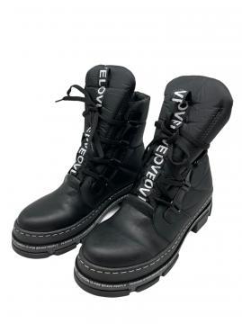 Boots La Pèra Faux zwart