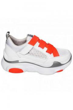Sneaker Moon Step neon - oranje