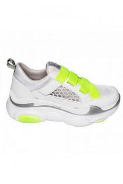 Sneaker Moon Step neon - groen