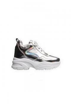 Sneaker zilver