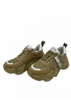 Sneaker Sport mosterd