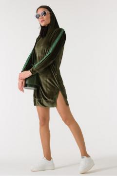 Sweatjurk Sonesta Velours groen