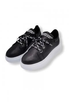 Sneakers La Pèra  dames zwart