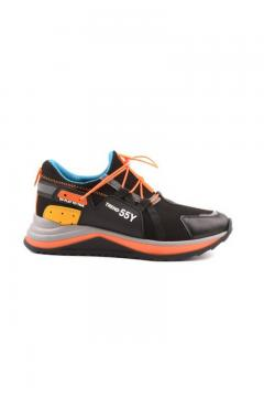 Sneaker Trendy zwart - oranje