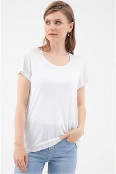 Wit basic t-shirt