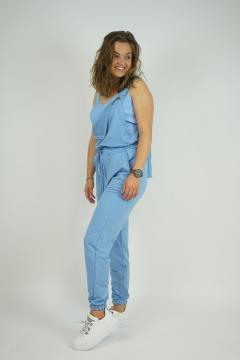 Jumpsuit Baby blauw