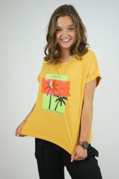 T-shirt glowing camel