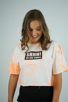 T-shirt cares oranje