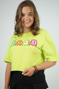 T-shirt PKM groen