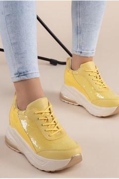 Sneaker Trendy geel
