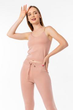Huispak dames roze 3 delig
